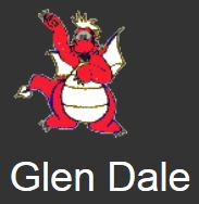 Glen Dale Elementary School Logo with name