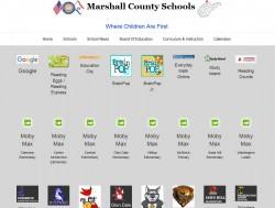 elementary landing page