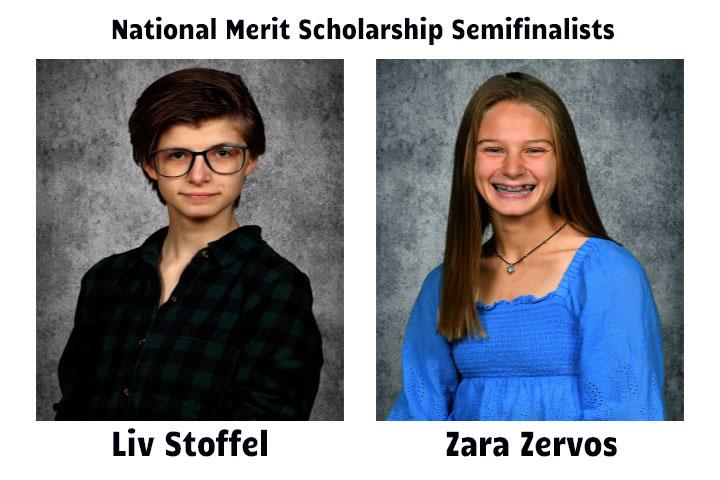 From left Liv Stoffel and Zara Zervos