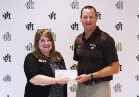 The John Marshall High School Athletic Department was recently awarded a grant from the Evan G. Roberts Charitable Trust, administered by BB&T Trustees.