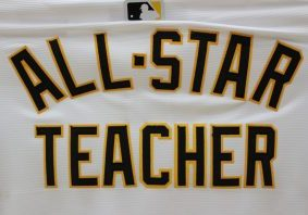 "Wednesday, representatives from Chevron, the Grable Foundation, Pittsburgh Pirates, and Pirates Charities recognized four Pittsburgh-area teachers for their exceptional classroom efforts during surprise school events. Warwood Middle's Josh Yost, Sand Hill Elementary's Mindy Thomas, and Moundsville Middle's Suzanne Muncy make up the fifth group of teachers honored as this season's ""All Star Teachers""."