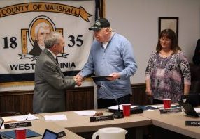 "An ""Honorary Diploma"" was awarded to United States Army Veteran David Utter."