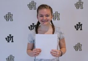 Kealyn McCardle Mothers Day Essay Winner Pic