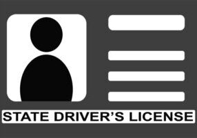 cartoon driver's license