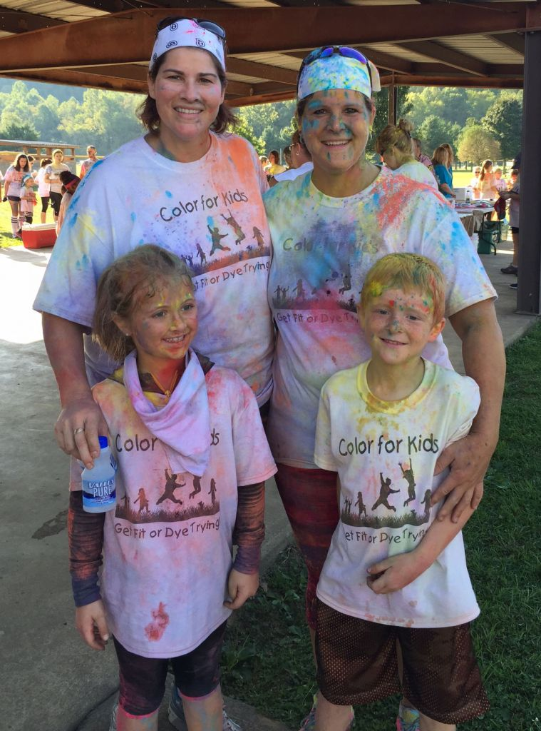 McNinch Primary School Holds First Ever Color Run