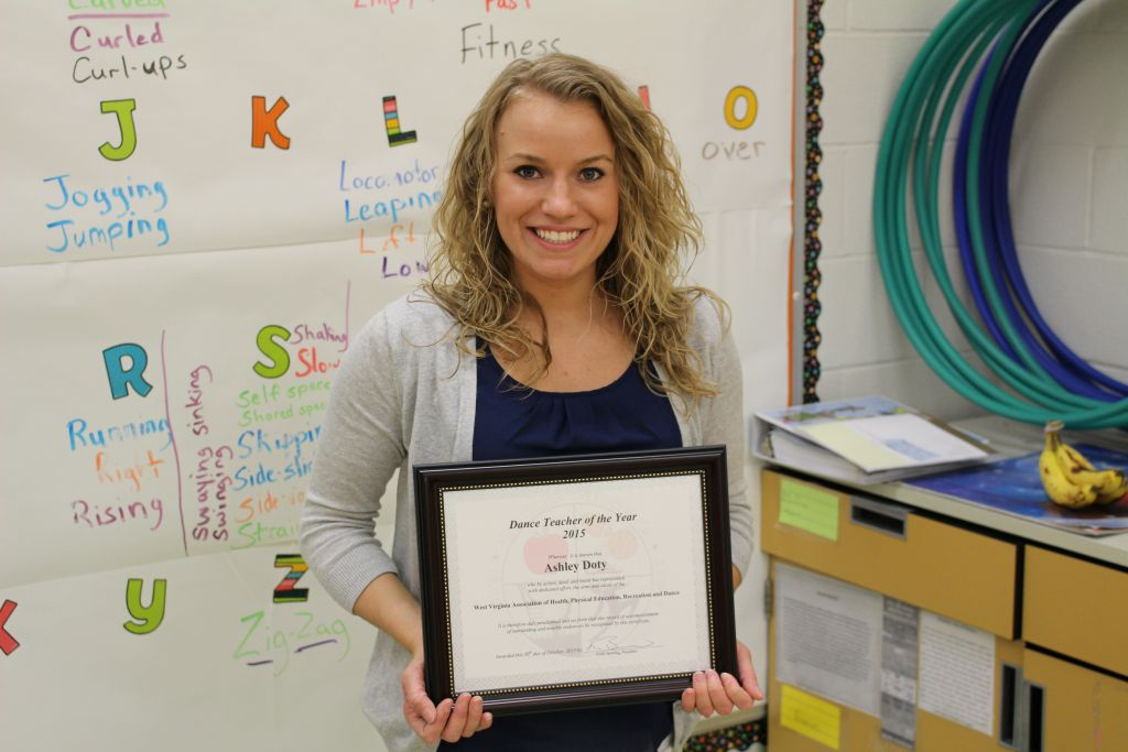Mrs. Doty Receives State Award