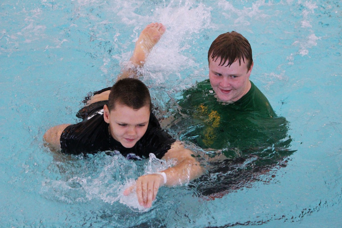 Special Olympics Swim Meet Held in Marshall County