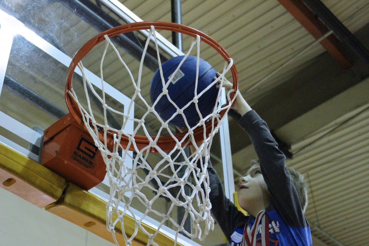 Marshall County Special Olympics Event a Slam Dunk