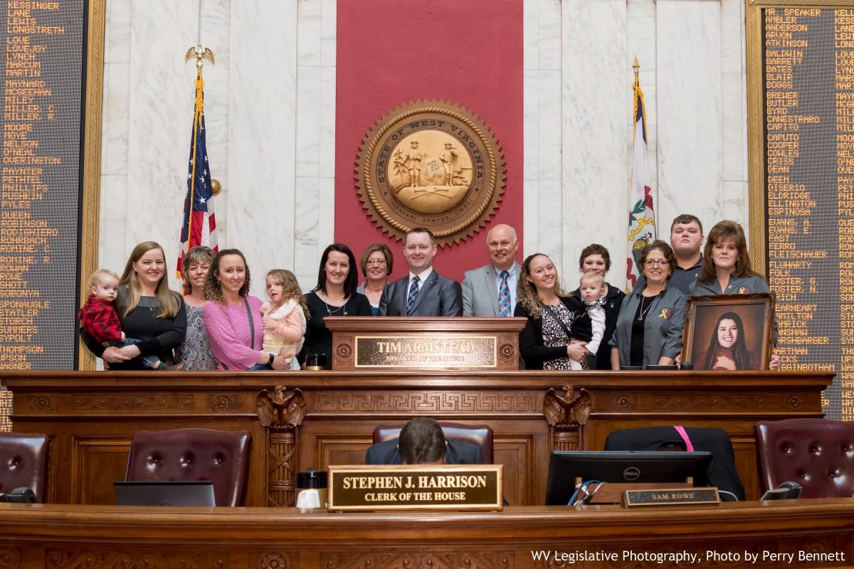 Childhood Cancer Awareness Group Receives Legislative Citation