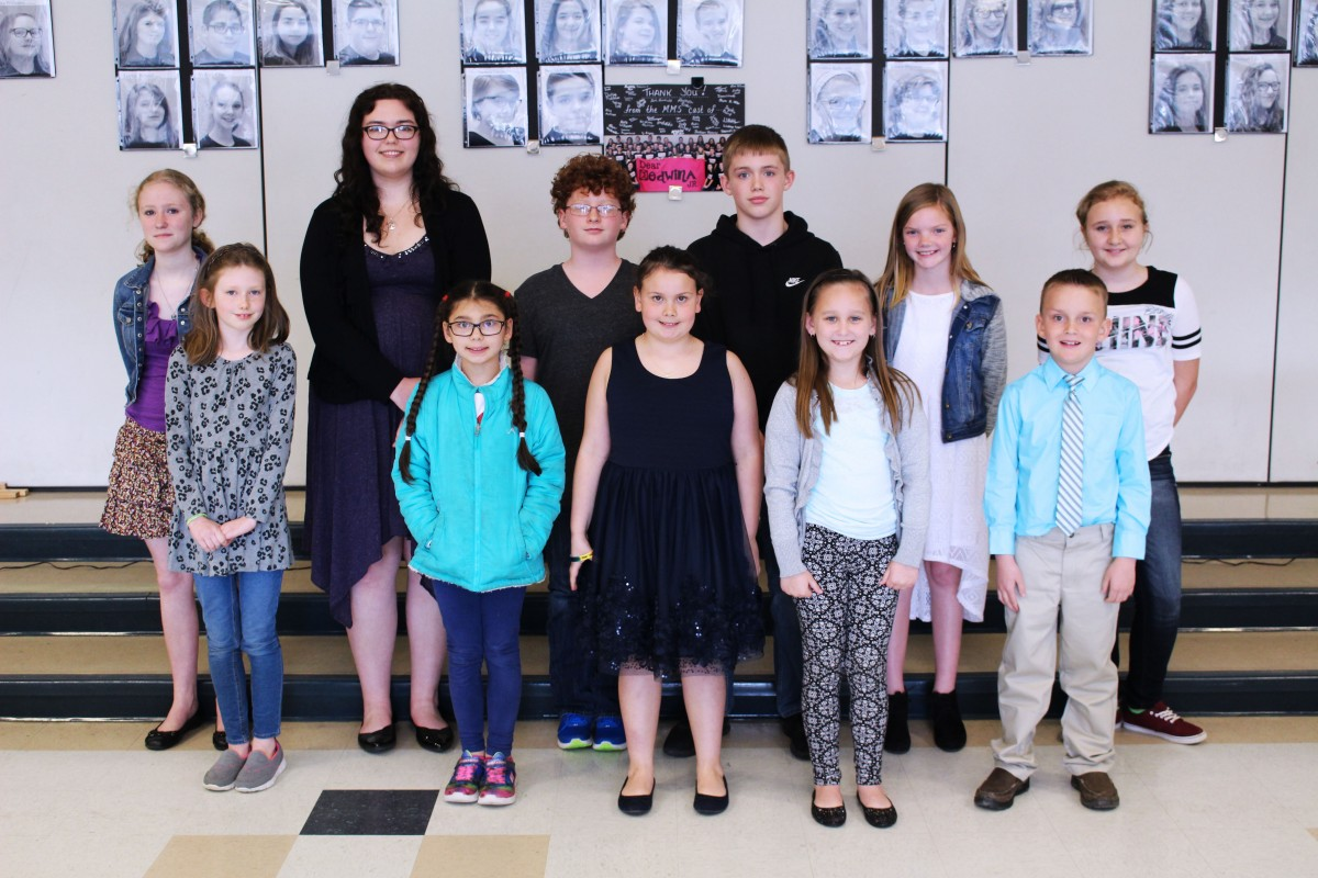 Marshall County Young Writers Honored