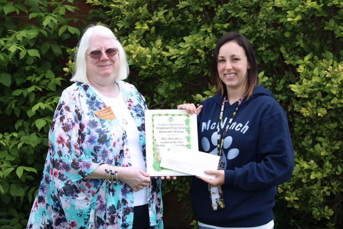 Students Recognized by National Garden Club