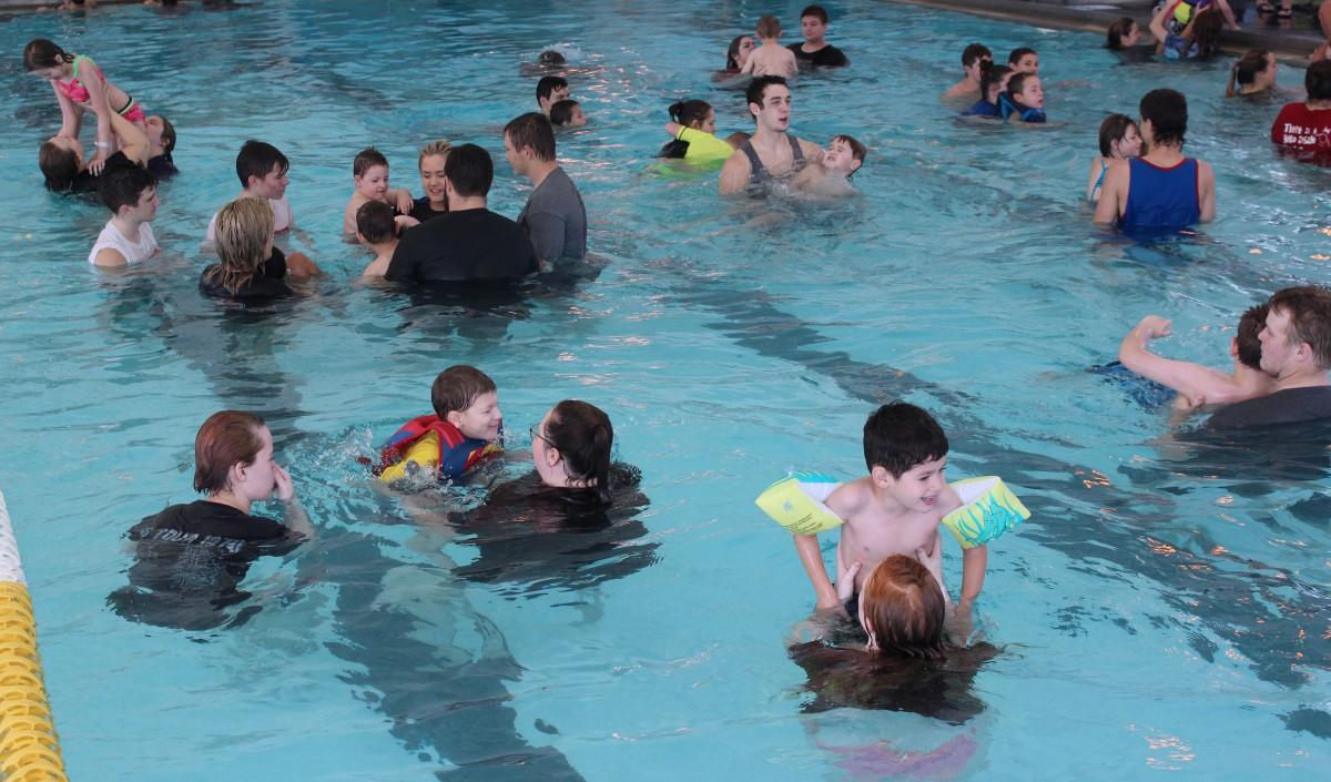 Special Olympics Swim Meet Held