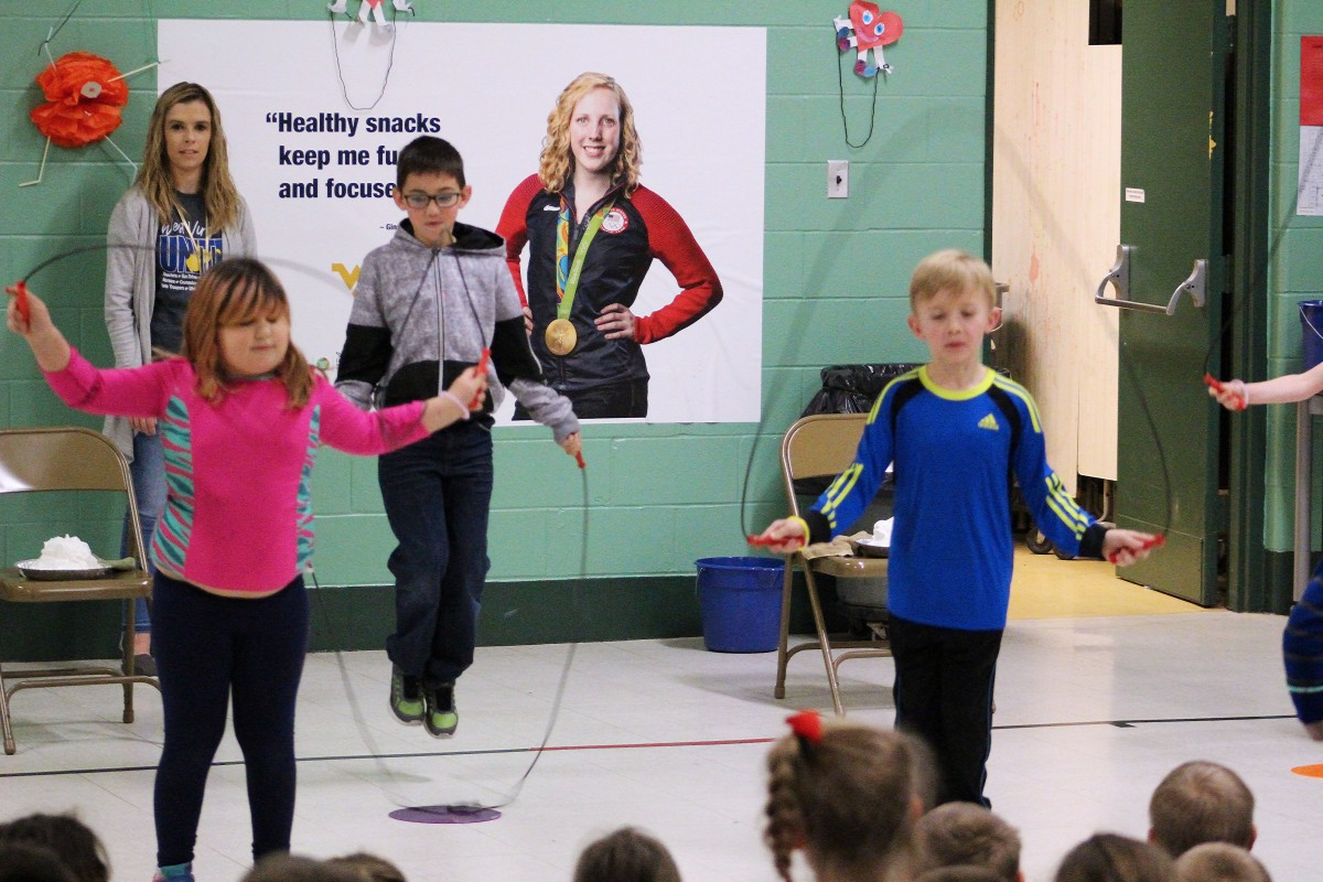 McNinch Primary Students Jump to Fight Against Heart Disease