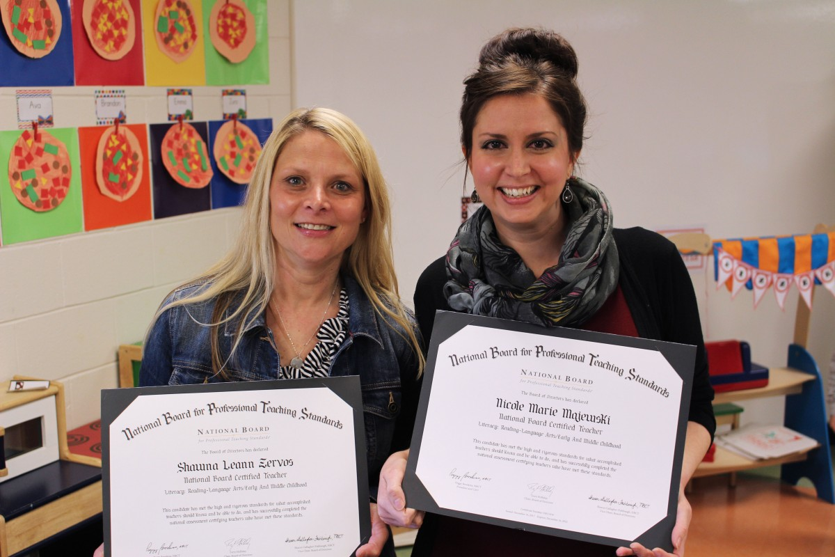 Mentorship Turned Friendship Leads Teachers to National Certification