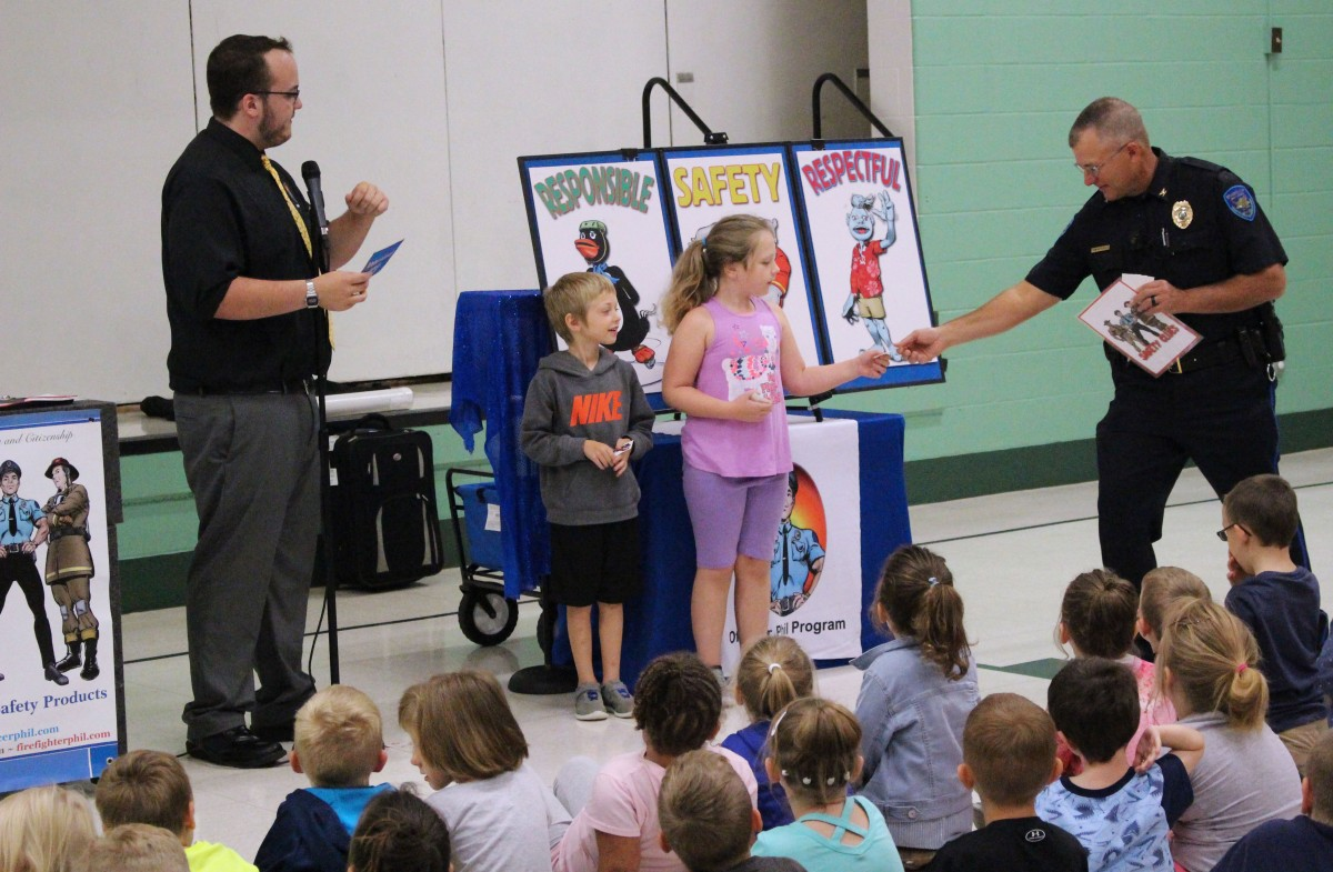 Students Participate in Safety Program